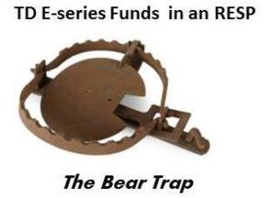 TD E-series RESP bear trap