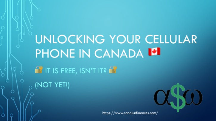 Unlocking Cellular Phone